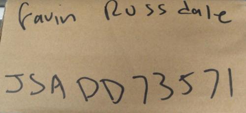 Gavin Rossdale Hand Signed Autographed Electric Guitar Bush JSA DD73571
