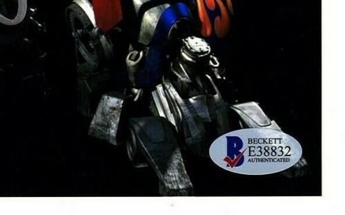 "PETER CULLEN Signed Transformers ""Optimus Prime"" 8x10 Photo Beckett BAS #E38832"