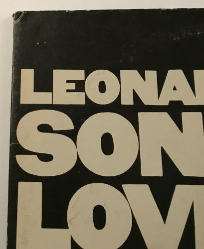 "RARE- LEONARD COHEN authentic signed  ""Songs of Love and Hate"" Album-PSA AE65099"
