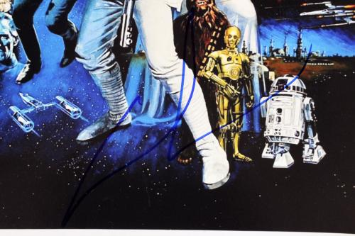 George Lucas Star Wars Signed 12x18 Photo Autographed BAS #A57196