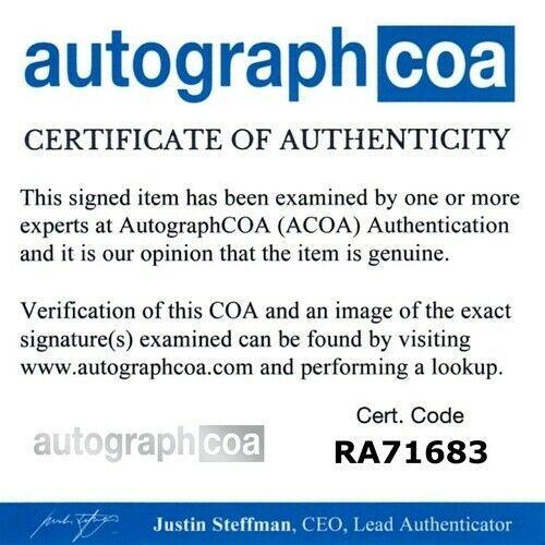 JAY LENO signed (THE TONIGHT SHOW) 8x10 photo autographed ACOA Authentic #4