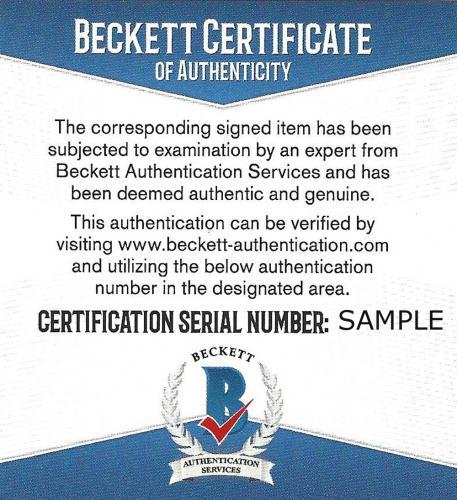 Jeff Bridges Autographed 8x10 Magazine Page Photo Tucker Beckett BAS #H44370