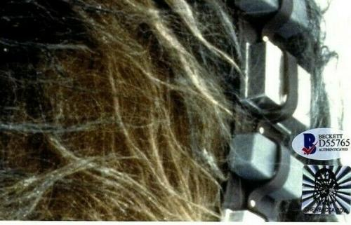 "PETER MAYHEW Signed  STAR WARS ""Chewbacca"" 11x14 Photo BECKETT BAS #D55765"