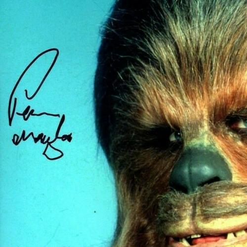 "PETER MAYHEW Signed  STAR WARS ""Chewbacca"" 11x14 Photo BECKETT BAS #D55728"