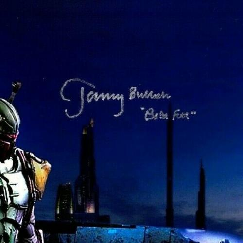 "JEREMY BULLOCH Signed Autographed STAR WARS ""Boba Fett"" 11x17 Photo JSA #S88533"
