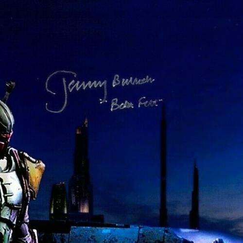 "JEREMY BULLOCH Signed STAR WARS ""Boba Fett"" 11x17 Photo JSA Witnessed #S88531"