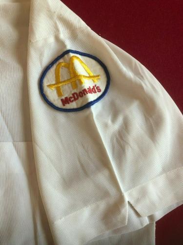 "1960's, McDonald's, ""Manager Shirt""  (Slash Logo) RARE (Vintage)"