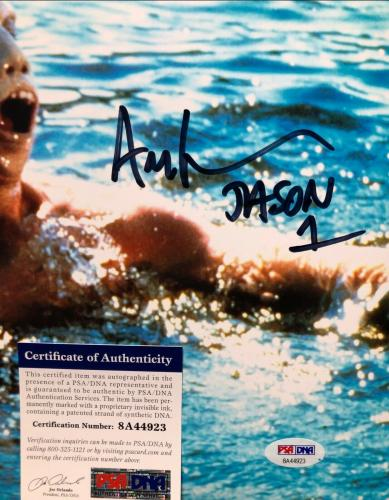"Ari Lehman Signed Jason Voorhees:Friday The 13th 11x14 Photo ""Jason 1"" PSA 44923"