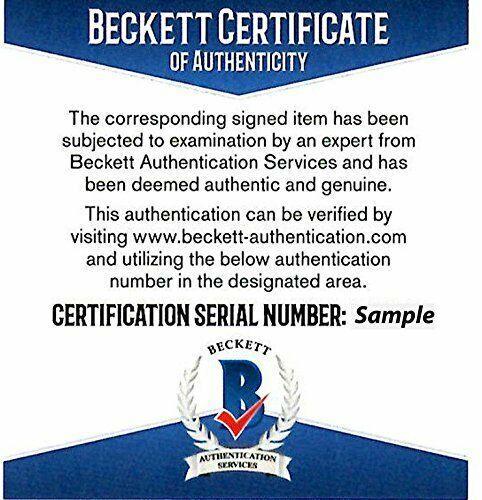 Tom Araya Signed Autographed 8x10 Photo Beckett Slayer