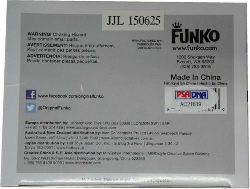 Butch Patrick Hand Signed Autographed Funko Pop! Doll Eddie Monster PSA/DNA