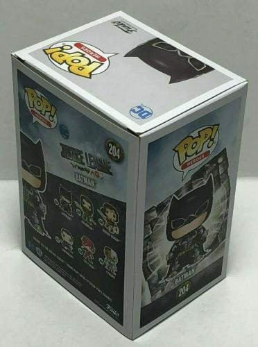 Ben Affleck Signed Justice League:Batman Funko Pop #204 BAS Beckett J80483