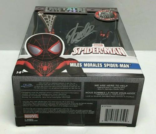 Stan Lee Signed Marvel Spider-Man Metal Diecast Figure Excelsior Approved COA