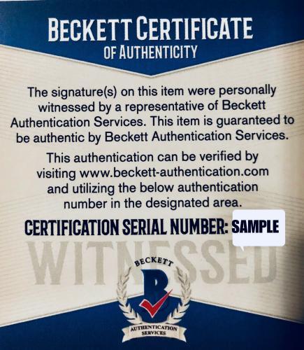 Millie Bobby Brown Signed Eleven 16x20 Photo Stranger Things - Beckett BAS COA