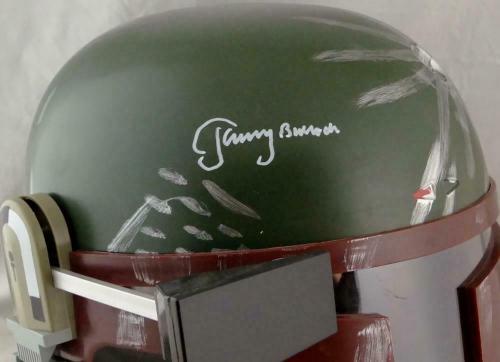 Jeremy Bulloch Autographed Star Wars Boba Fett Helmet - JSA W Auth *White