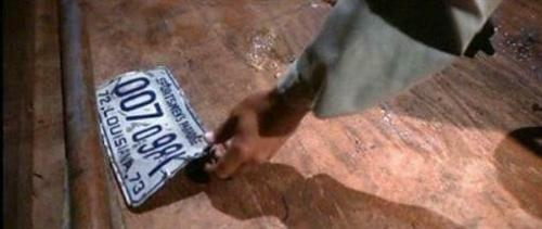 Richard Dreyfuss Jaws Autopsy Scene Autographed Signed License Plate BAS COA