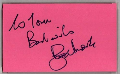 """ROGER MOORE """"James Bond"""" 1977 Signed Autographed 3x5 Index Card PSA/DNA SLABBED"""