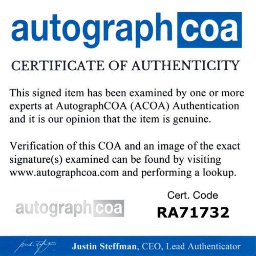 DOUG JONES signed (FANTASTIC 4 RISE OF THE SILVER SURFER) MOVIE 8X10 photo ACOA