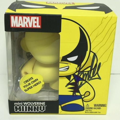 Stan Lee Signed Marvel Create Your Own Wolverine Munny Figure PSA W59872