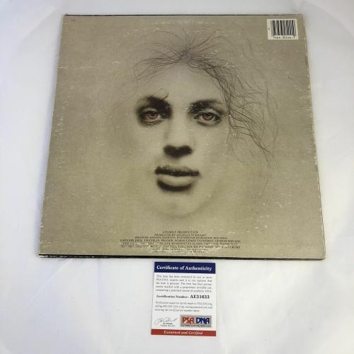 Billy Joel signed Piano Man LP Vinyl PSA/DNA Album autographed