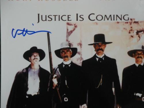 Val Kilmer Hand Signed Autographed 10x15 Photo Tombstone Cover Page JSA