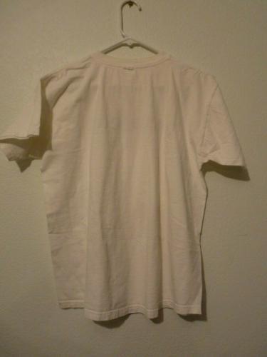 Slash Guns & Roses YES DEAR White T Shirt OWNED BY SLASH & PERLA