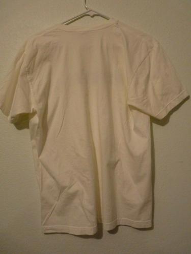 Slash Guns & Roses FILTHY White T Shirt OWNED BY SLASH & PERLA
