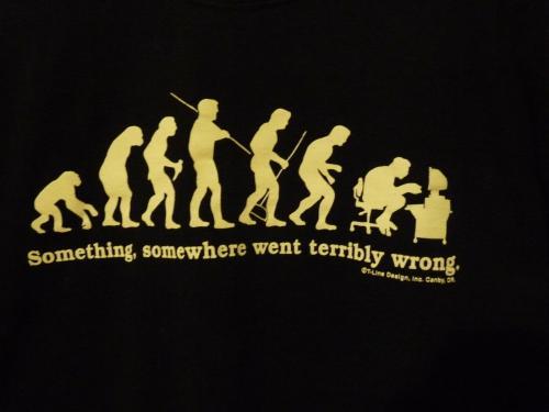 Slash Guns & Roses Evolution Went Wrong Black T Shirt OWNED BY SLASH & PERLA