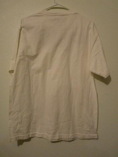Slash Guns & Roses CONART White T Shirt OWNED BY SLASH & PERLA