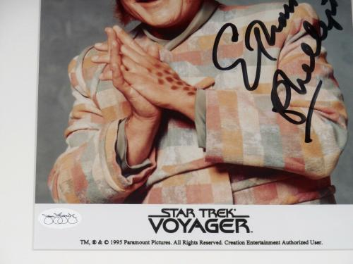 Ethan Phillips Autographed 8x10 Color Photo (framed & Matted) - Star Trek!