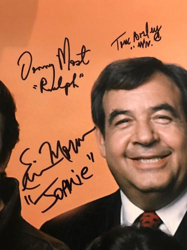 Happy Days Cast Signed 16x20 Ron Howard, Bosley, Henry Winkler 7 Autos PSA DNA