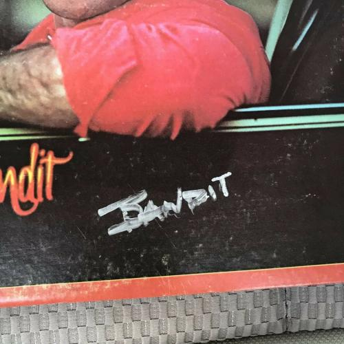 Burt Reynolds Signed Vinyl Album Smokey And The Bandit Inscribed Bandit JSA