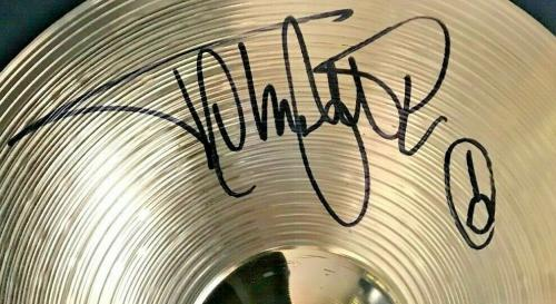 RARE- TOMMY LEE (Motley Crue) signed 14 inch Sabian drum cymbal