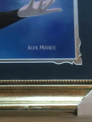 The Snow Queen Elsa Frozen Framed 11x14 Disney Character Art litho Alex Maher