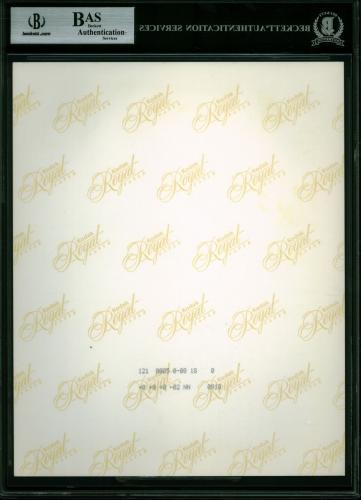 Eric Clapton Signed 8x10 Photo Autographed BAS Slabbed