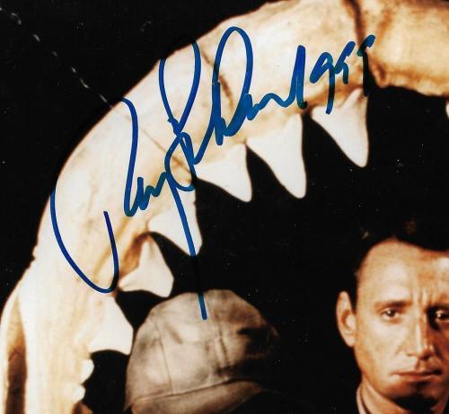 Roy Scheider Richard Dreyfuss Jaws signed 8x10 photo framed 2 auto PSA/DNA COA
