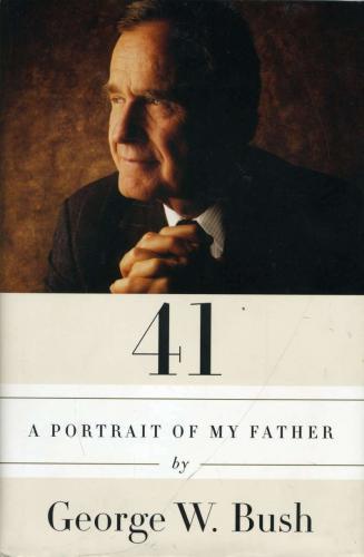 George W Bush Jsa Cert Hand Signed 41 Book Autograph