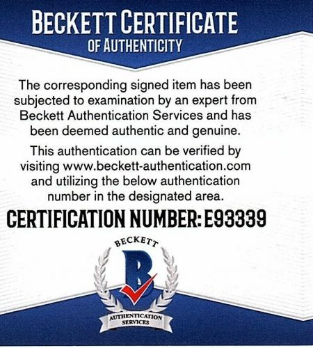"JEREMY BULLOCH Signed STAR WARS ""Boba Fett"" 11x14 Photo BECKETT BAS #E93339"