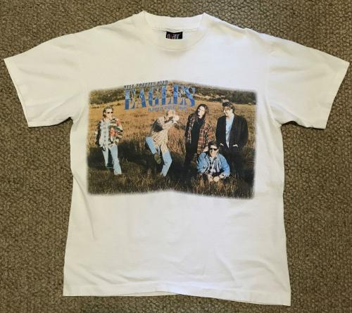 The Eagles T Shirt 1994 Hell Freezes Over World Tour Size Large 42