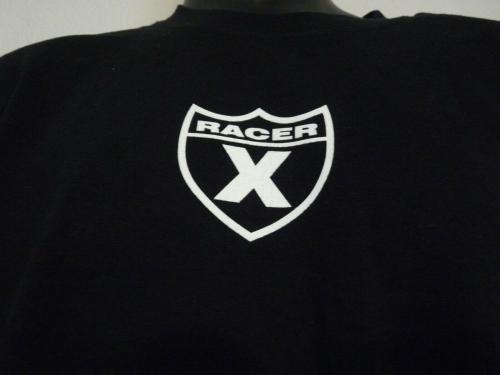Slash Guns & Roses RACER X Black T Shirt OWNED BY SLASH SAUL HUDSON