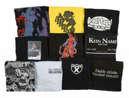 Slash Guns & Roses CARTAS MEXICO Black T Shirt OWNED BY SLASH SAUL HUDSON
