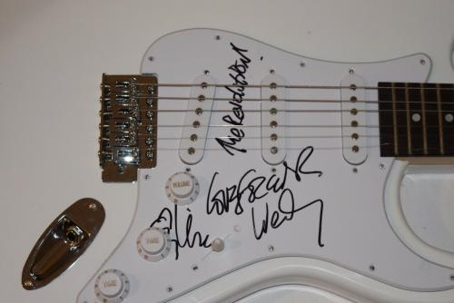 Wendy Melvoin & Lisa Coleman Signed Autographed Guitar PRINCE The Revolution COA