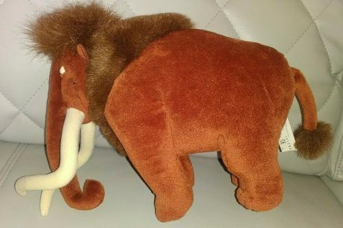 Disney Mattel Manny Mammoth 10' Collectible Plush Toy W/tags Very Cool L@@k