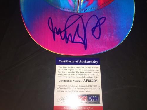 Michael J Fox Signed Back To The Future II Official Hat PSA/DNA