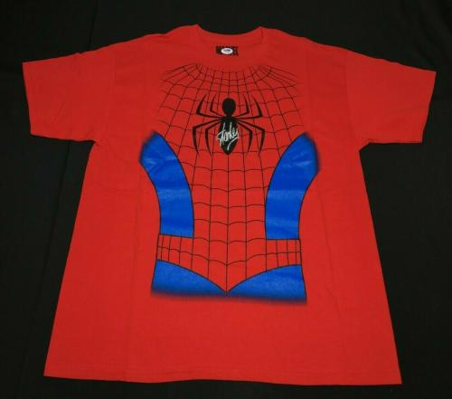 Stan Lee Signed Marvel Spider-Man T-Shirt *Excelsior PSA W72198