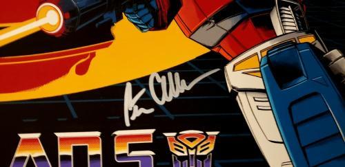 "PETER CULLEN & FRANK WELKER Signed 24x37 Mondo Poster ""TRANSFORMERS"" SDCC BAS"