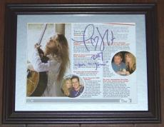 "1 OF A KIND ""Tim McGraw 2007"" Taylor Swift Signed Autographed Photo JSA COA!"