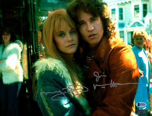 "MEG RYAN & VAL KILMER Signed ""The DOORS"" Movie 11x14 Photo Beckett BAS #H78397"