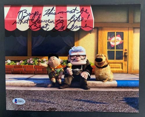 Ed Asner Signed Photo BAS Beckett 8x10 Autograph Disney Pixar Mary Tyler Moore