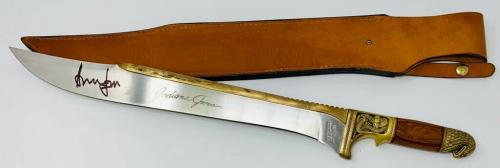 Harrison Ford Indiana Jones Autographed Machette Signed BAS Beckett Witnessed