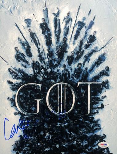 Conleth Hill & John Bradley Signed 'Game Of Thrones' 11x14 Photo PSA AF81841